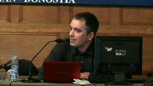 """""""Open Dataren mundu-mailako ikuspegia, iraultza isil baten klabeak"""". Marc Garriga. EHUren udako ikastaroak (12.07.11)  [75:48]"""