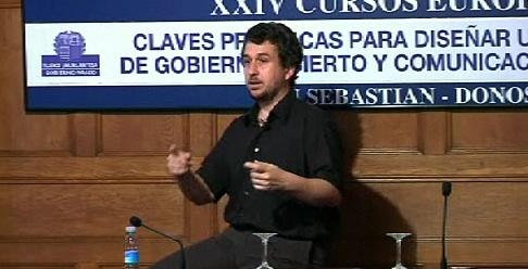 """""""El Gobierno Abierto y la brecha digital"""". Ismael Peña-López. Cursos de verano de la UPV-EHU (12.07.07) [91:04]"""