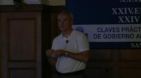 """""""Desafíos para la administración del siglo XXI"""". Jordi Graells. Curso de verano de la UPV-EHU (12.07.12) [70:26]"""