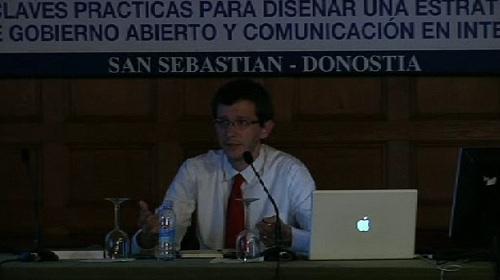 """""""Software libre y otras cuestiones legales vinculadas al Gobierno Abierto"""". Jorge Campanillas. Curso de verano de la UPV-EHU (12.07.12) [80:36]"""