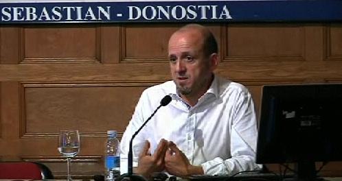 """""""La participación ciudadana, el modelo LUDO"""". Alberto Ortíz de Zárate. Cursos de verano de la UPV-EHU (12.07.12) [81:02]"""