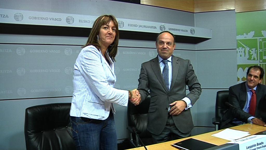 El Gobierno Vasco prevé alcanzar ahorros superiores a 5 millones de euros en tecnología gracias a un nuevo acuerdo con Oracle [9:07]