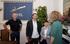 La consejera Zabaleta presenta el Pacto Social por la Inmigración a la presidenta de Eudel