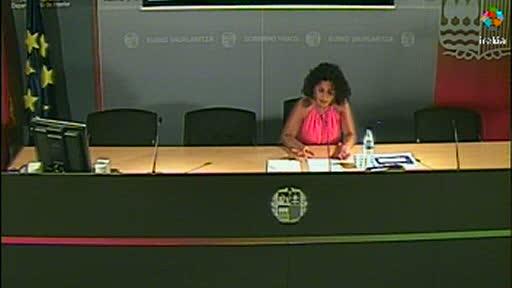 Presentación del balance semestral sobre la violencia machista contra las mujeres en Euskadi [18:43]