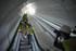 Intxaurrondo contará desde la próxima semana con la primera marquesina de diseño noruego del Metro de Donostialdea