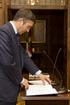 Idoia Mendia toma posesión del cargo de consejera de Interior