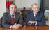 El Consejero de Transportes Iñaki Arriola y el Consejero de Fomento de Navarra, Luis Zarraluqui se han reunido para analizar el proyecto de conexión del TAV