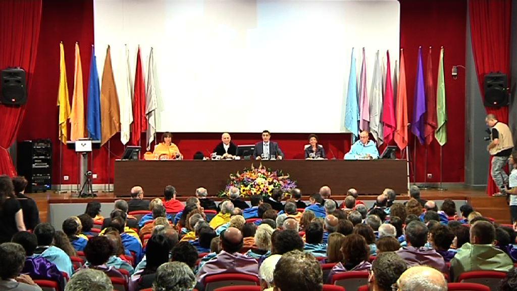 """Lehendakari: """"La Universidad será fundamental para superar las incertidumbres actuales y que nos van a abrir caminos nuevos"""" [23:25]"""