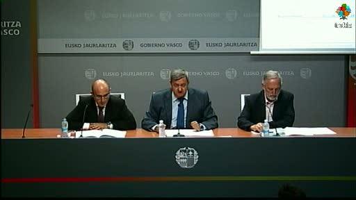 Euskadi sitúa la tasa interanual en el -0.9% y mejora en cuatro décimas la tasa media española del -1.3% [37:06]