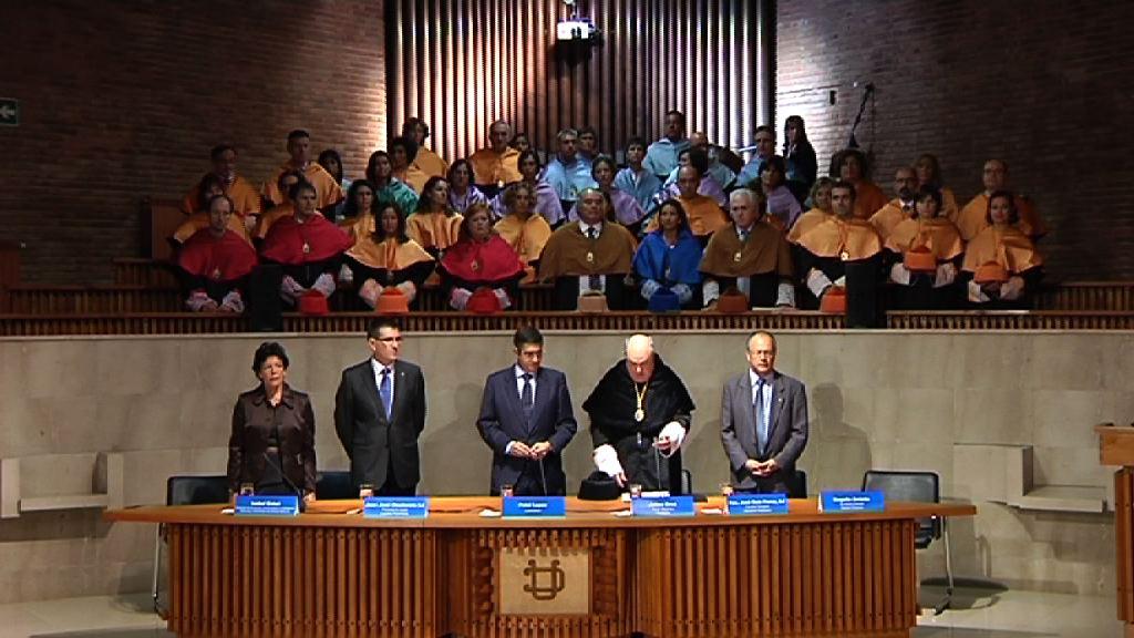 El Lehendakari preside la apertura de curso de la Universidad de Deusto [20:30]