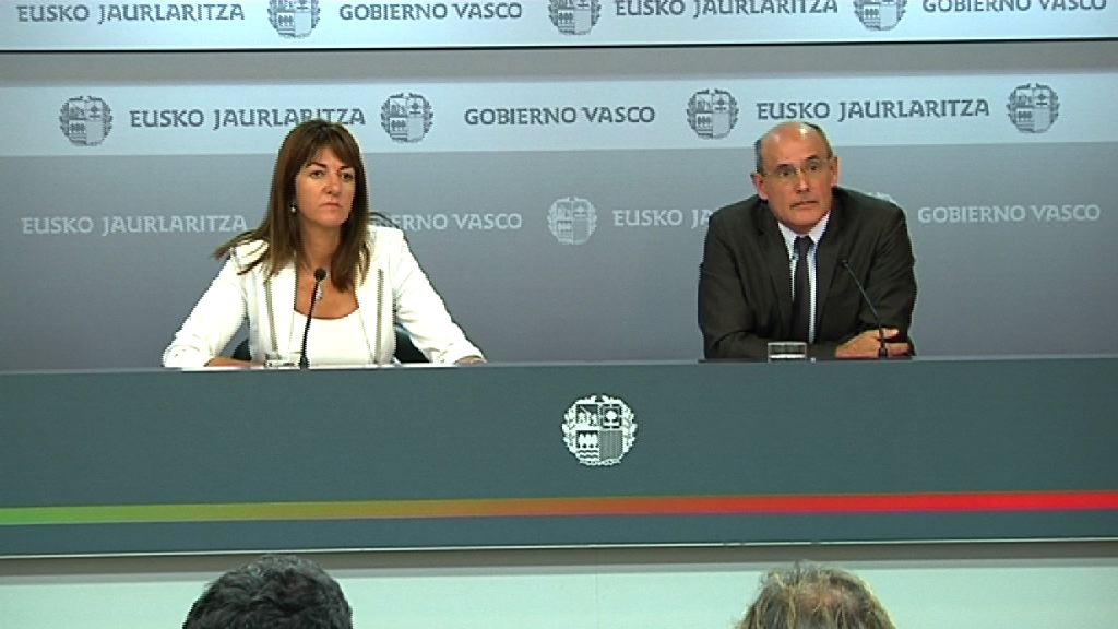 Aguirre convoca el Consejo Vasco de Finanzas para el 23 de octubre [0:00]