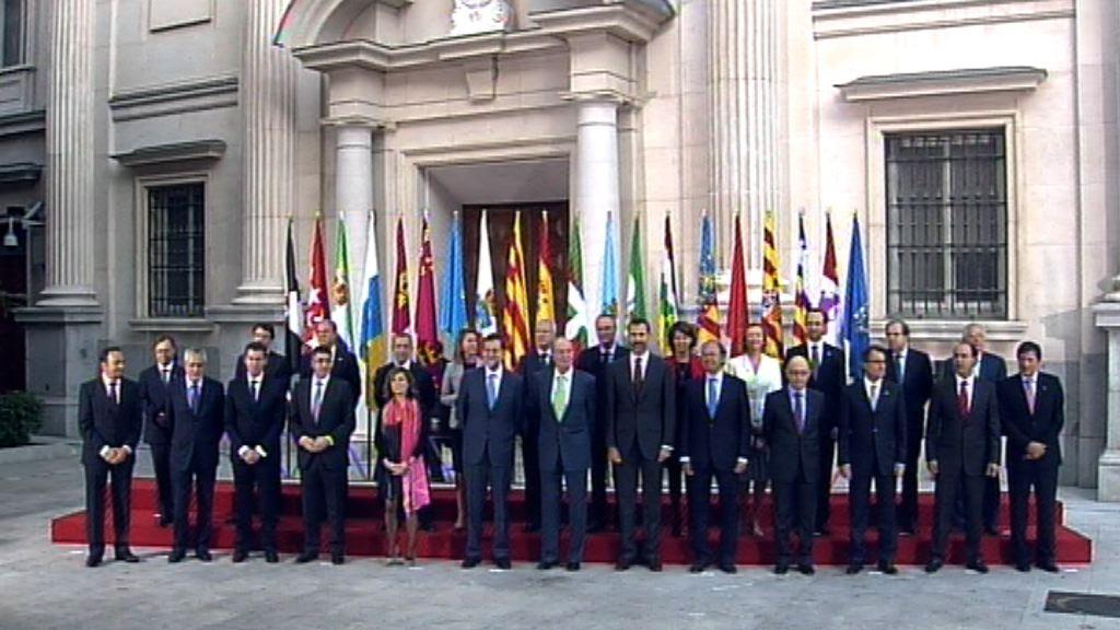 El Lehendakari acude a la V Conferencia de Presidentes Autonómicos [16:43]