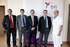 Bernabé Unda visita el Biotecnology Institute en Vitoria-Gasteiz