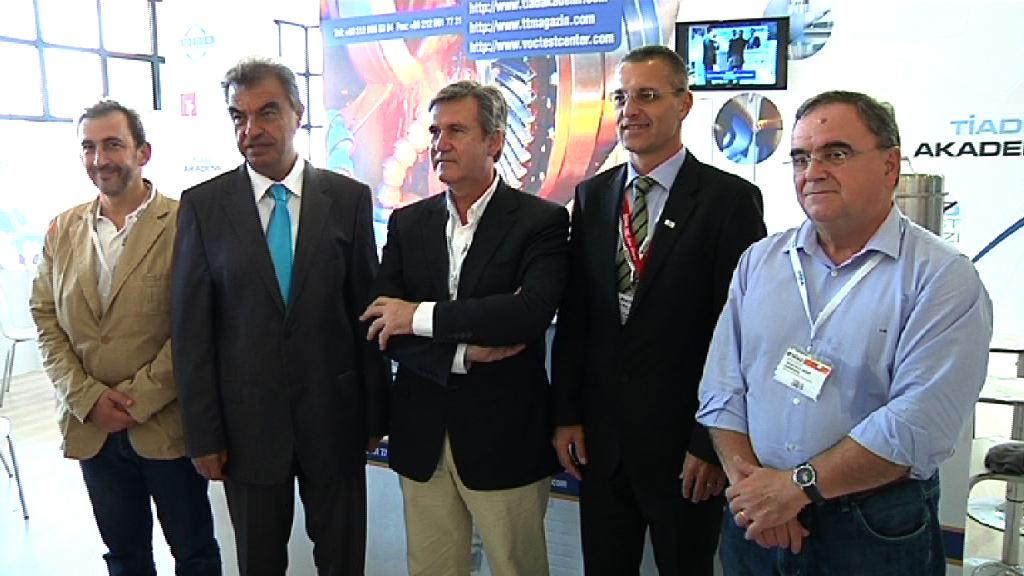 Una quincena de empresas vascas presentes en la Feria de Máquina Herramienta de Turquía [3:48]