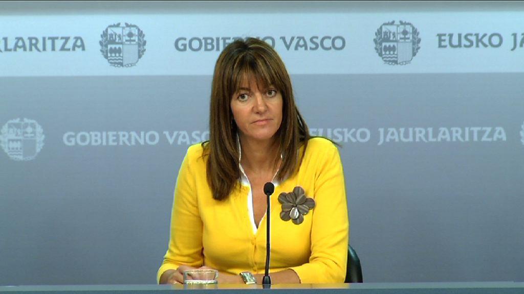 Rueda de prensa de la portavoz del Gobierno Vasco, Idoia Mendia [22:31]
