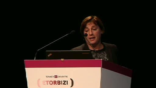 Maribel Romo: Berrikuntza Soziosanitarioari buruzko I. Etorbizi topaketaren 2. jardunaldia [14:53]