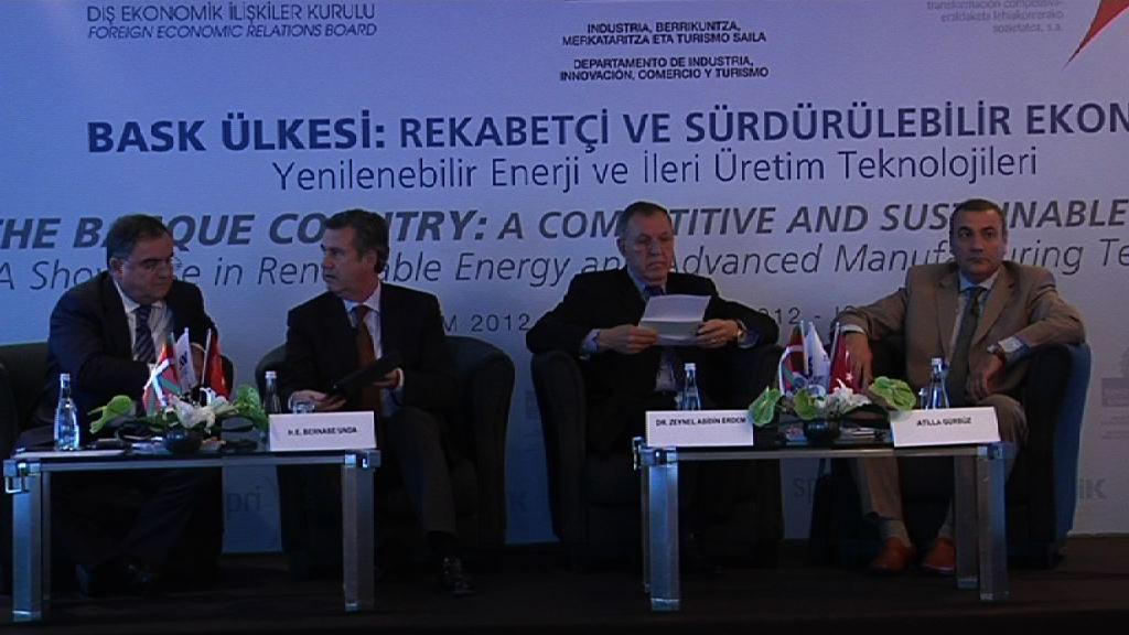 Turquía abre posibilidades de negocio a empresas vascas en materia energética, Xabier Garmendia [16:46]
