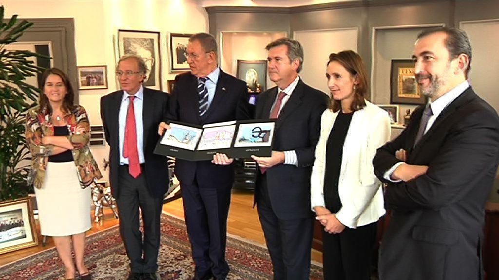 Bernabé Unda se reúne con el Consejo de Relaciones Económicas Internacionales de Turquía, reunión en DEIK [1:23]