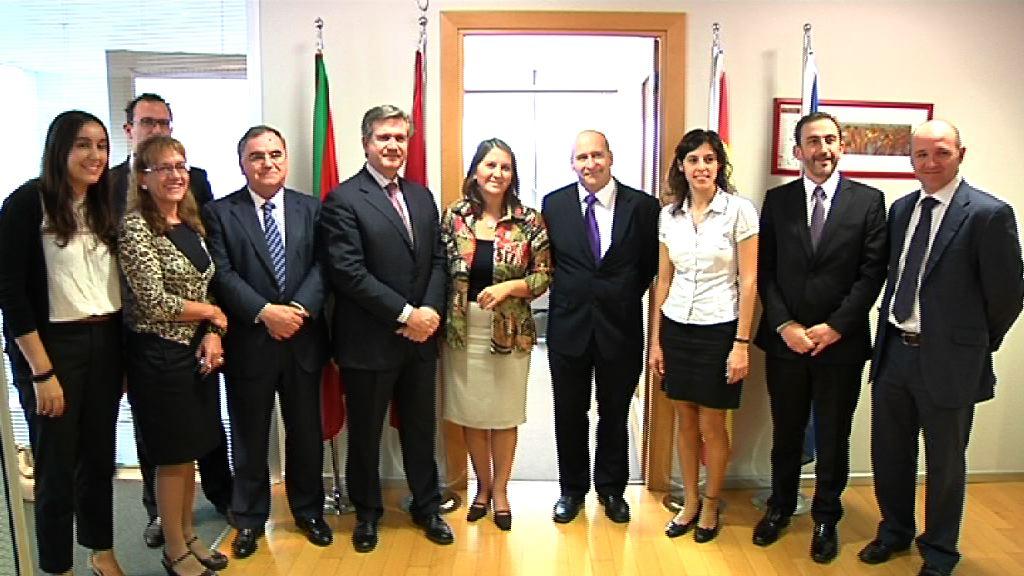 Bernabé Unda se reúne con el Consejo de Relaciones Económicas Internacionales de Turquía, visita a la sede de SPRI en Estambul [1:06]