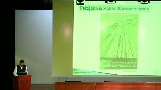 Euskadiko Geodibertsitateari buruzko II Jardunaldiaren bigarren eguna - Xabier Orue [63:02]