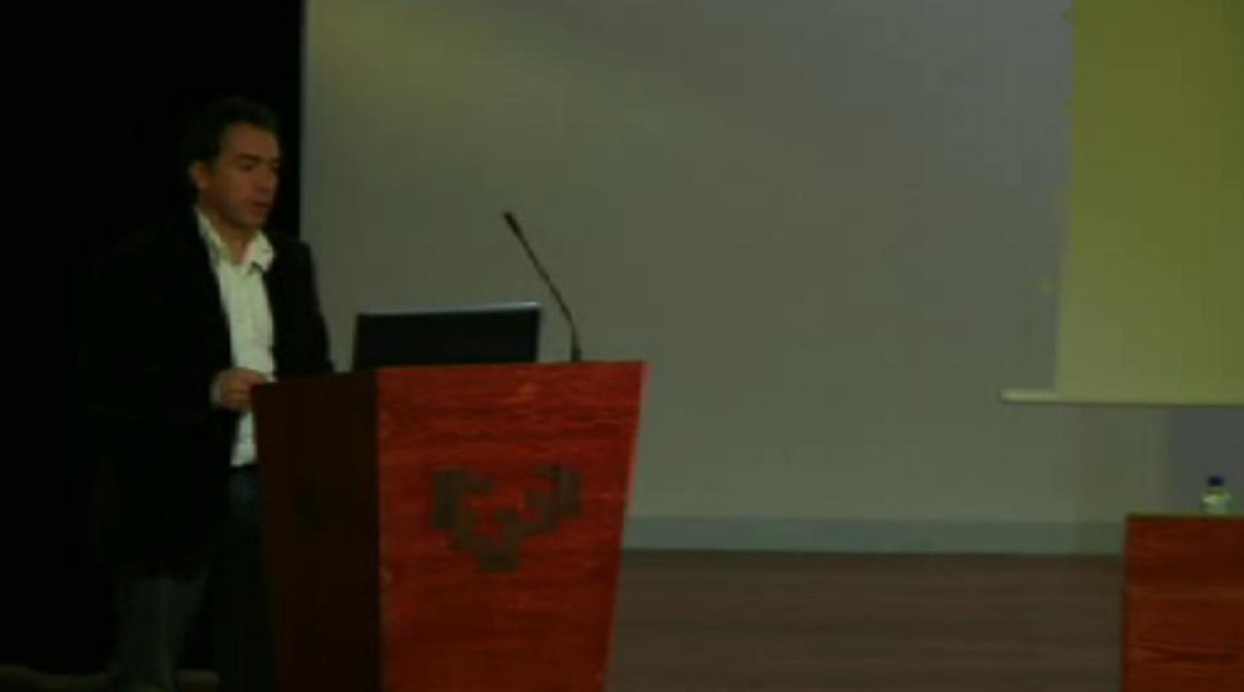 Euskadiko Geodibertsitateari buruzko II Jardunaldiaren bigarren eguna - Miguel Ángel Gómez [26:25]