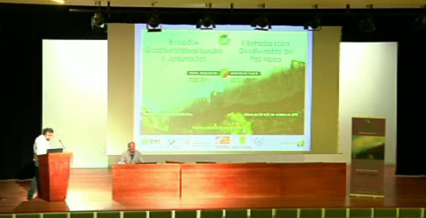 2º día de las II Jornadas sobre Geodiversidad del País Vasco [19:15]