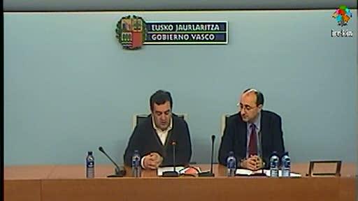 El Viceconsejero Gasco asegura que el TAV es motor de la economía vasca ya que durante su construcción ha generado 5.000 puestos de trabajo [27:41]