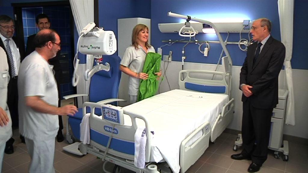 Inauguración de la 4ª planta de hospitalización del Hospital Santa Marina [38:58]