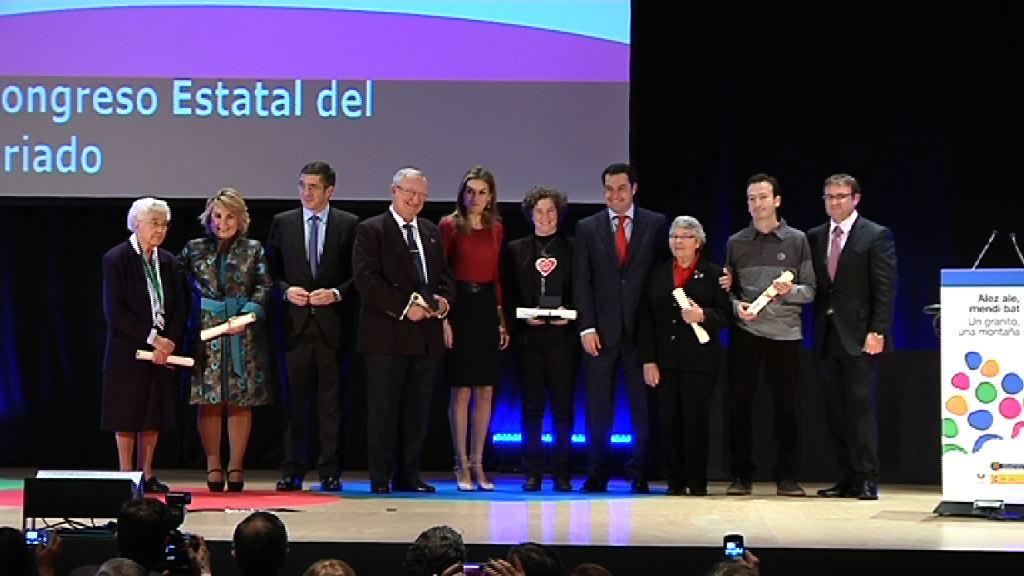 El Lehendakari y la Princesa de Asturias inauguran el XV Congreso  Estatal del Voluntariado [6:24]