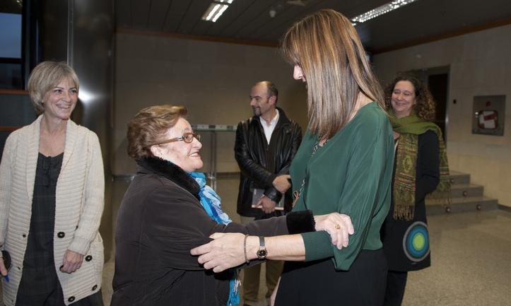 Mendia entrega los primeros dictámenes a las víctimas de sufrimientos injustos