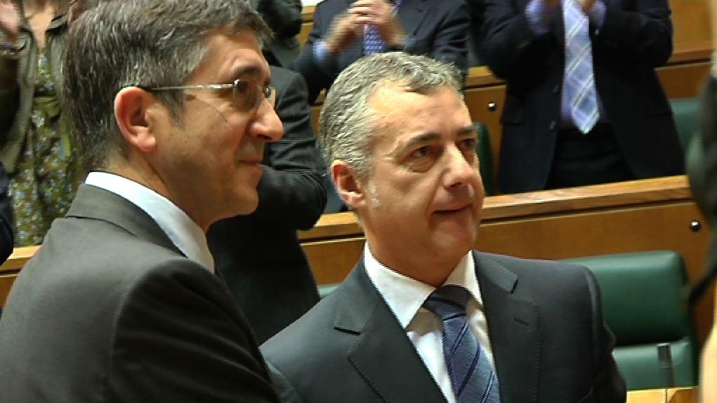 El Parlamento Vasco elige a Iñigo Urkullu como lehendakari [16:40]