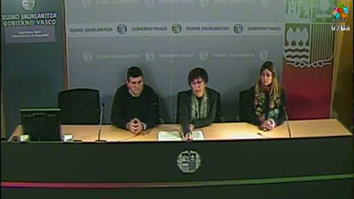 """La """"mayor preocupación"""" del Gobierno vasco es la situación de los embalses [12:04]"""