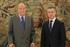 El Lehendakari ha sido recibido por el Rey en el Palacio de la Zarzuela