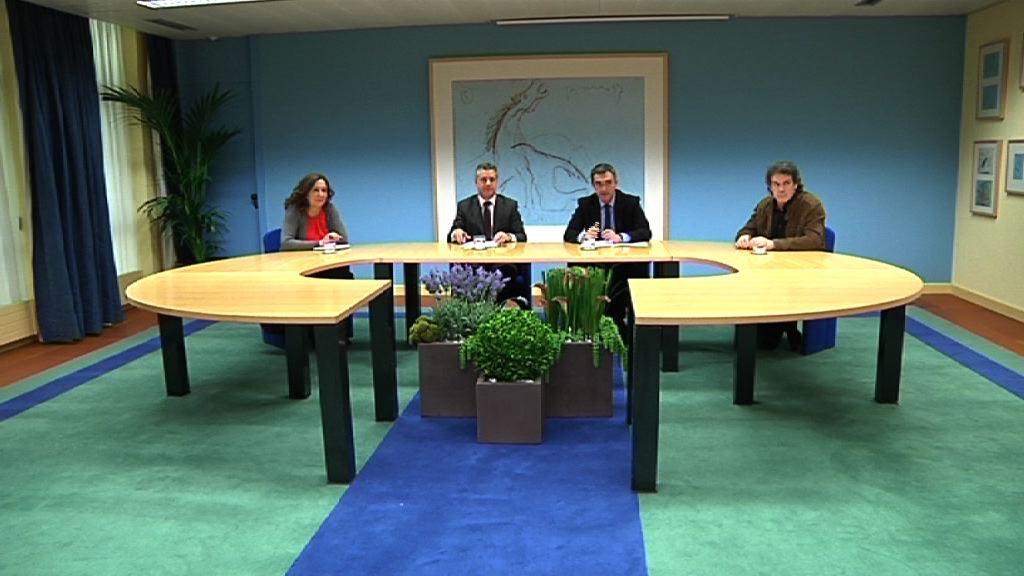 El Lehendakari presenta la nueva Secretaría de Paz y Convivencia [32:28]