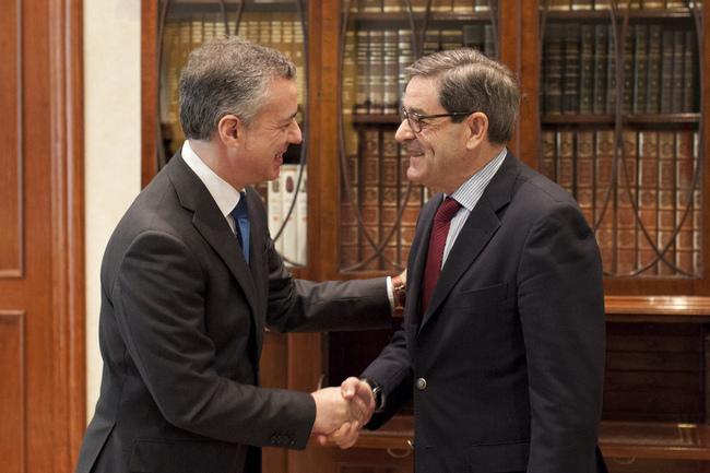 El Lehendakari abre una ronda de contactos con los agentes socio-económicos