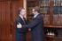 Lehendakaria Euskadiko UGT sindikatuko idazkari nagusiarekin elkartu da