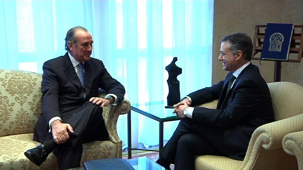 El Lehendakari se reúne con el presidente de Confebask [1:03]