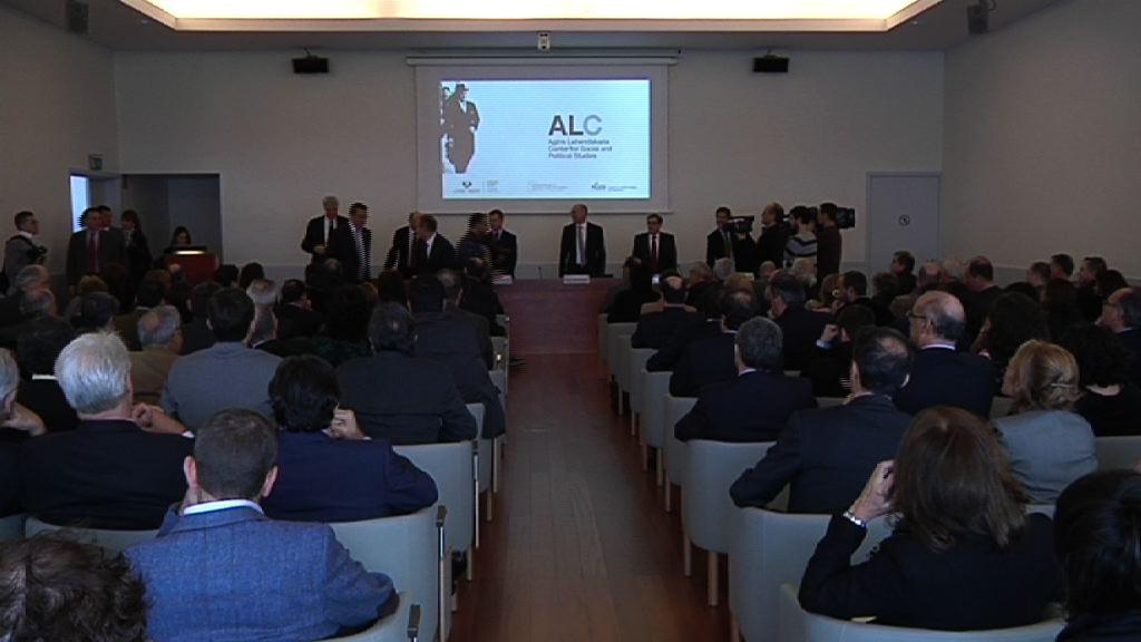 """Lehendakari Agirre Center """"impulsará la presencia de Basque Country en el mundo"""" [62:37]"""