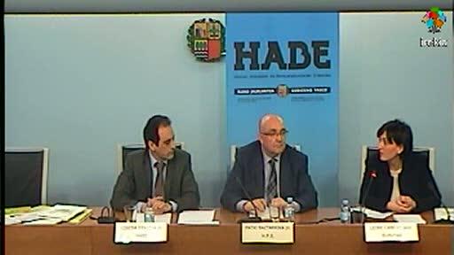 El Gobierno Vasco reconocerá los certificados de los niveles básicos para el aprendizaje del euskera [34:35]