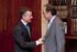 El Lehendakari se reúne con el presidente de Jakiunde, Jesús María Ugalde