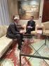 El Lehendakari se reúne con el rector de la UPV