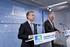 El Lehendakari recibe al presidente de Aquitania, Alain Rousset