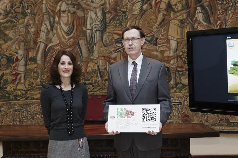 Gatzagaetxeberriak 2013ko aurrekontu-proiektua entregatu du Eusko Legebiltzarrean