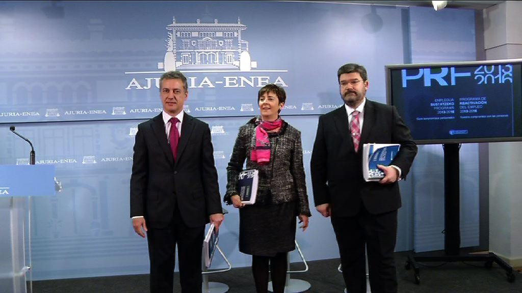 El Gobierno Vasco preservará más de 42.000 puestos de trabajo y generará más de 12.000 [38:07]