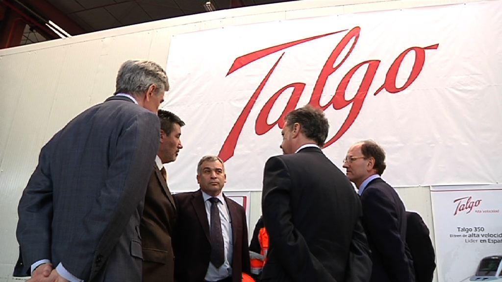 El Lehendakari visita la fábrica de Talgo en Rivabellosa [2:19]