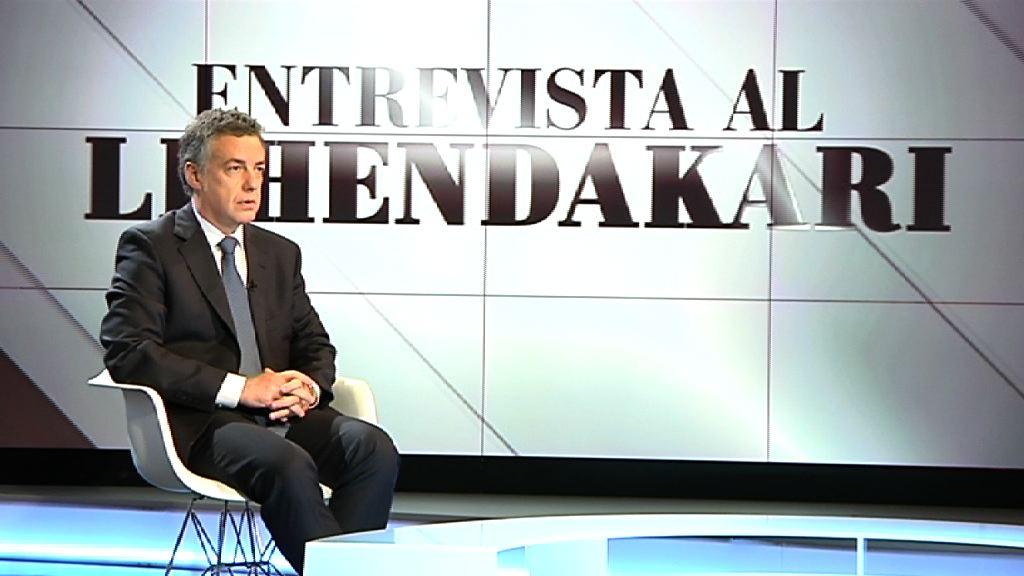 "El Lehendakari asegura que ETA ""no es la víctima"" sino la ""principal responsable"" [35:42]"