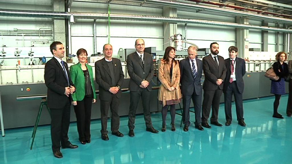"""El Gobierno vasco trabaja para que las inversiones en I+D+i tengan """"mayor y mejor"""" retorno en la sociedad vasca [7:47]"""