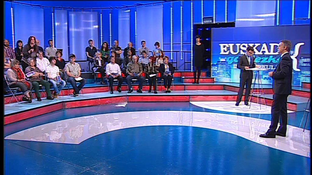 """El Lehendakari: """"No me voy a rendir, me empeñaré hasta el último minuto para aprobar el presupuesto"""" [117:00]"""