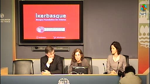 Ikerbasquerek  7 milioi euro lortu ditu Europatik 100 ikertzaile gazte kontratatzeko Euskadin [15:40]