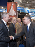 El lehendakari visita en Bruselas la feria pesquera European Seafood